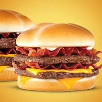 Son of Baconator Joins Wendy's Hamburger Lineup