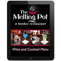 Maxx Menu brings an interactive wine and cocktail menu to various locations of The Melting Pot restaurants