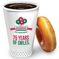 Krispy Kreme National Coffee Day Freebies