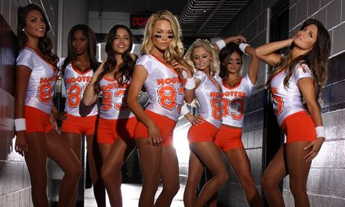 Become a Gridiron Great at Hooters, America's Fantasy Football Headquarters