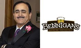 Bennigan's Enlists Silicon Valley Hospitality Pro to  Spearhead California Expansion