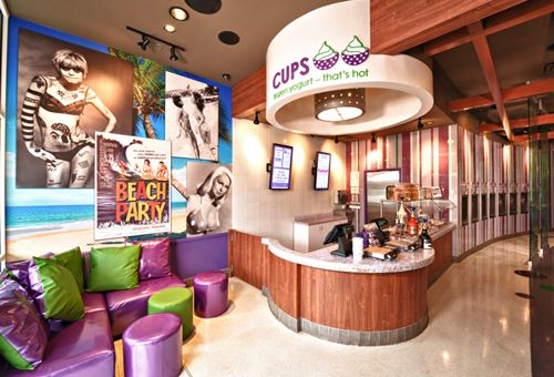 CUPS Frozen Yogurt – That's Hot Signs First Franchise Agreement in Texas