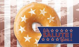 LaMar's Donuts Honors Veterans and Active Military November 11 with Free Donut and Coffee