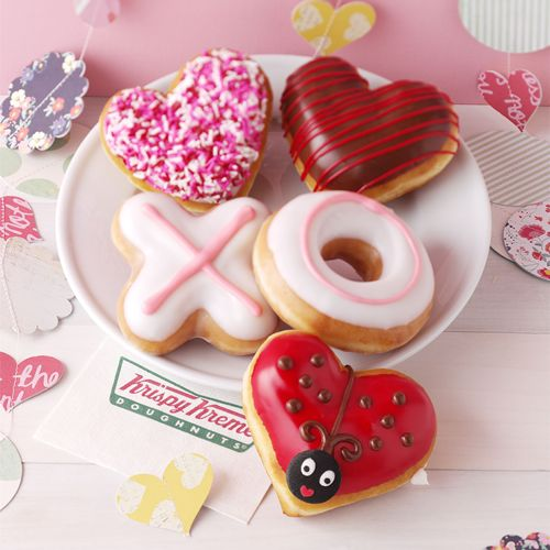 Taste and See: Valentine's Day Expressions of Affection at Krispy Kreme