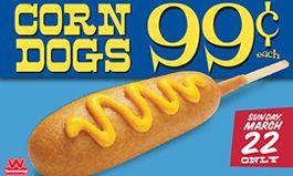 Wienerschnitzel Celebrates National Corn Dog Day