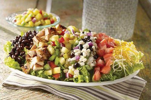 Salsarita's Fresh Cantina Brings Back Popular Mexican Chop Salad With Fresh Pineapple Salsa