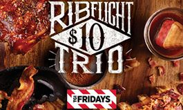 """TGI Fridays Beefs Up Father's Day with the Help of Football Legend Daryl """"Moose"""" Johnston and the Return of the Rib Flight Trio"""