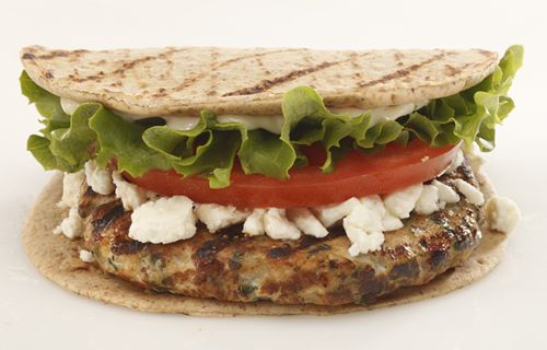 Back Yard Burgers Serves Up New Mediterranean Chicken Burger