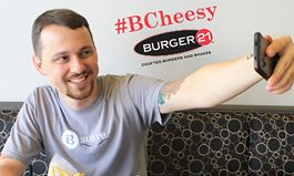 Burger 21 Celebrates National Cheeseburger Day With Free Cheesy Burger Offer Available Through New Mobile App And Rewards Program