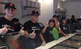 """Pizza Studio's Alhambra Grand Opening: """"Masterpizzas"""" and Fun for All"""