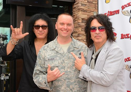 Paul Stanley And Gene Simmons To Salute The Troops On Veterans Day