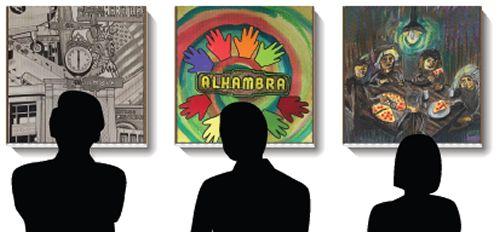 Pizza Studio Alhambra's Pizza Box Art Contest & Gallery Event