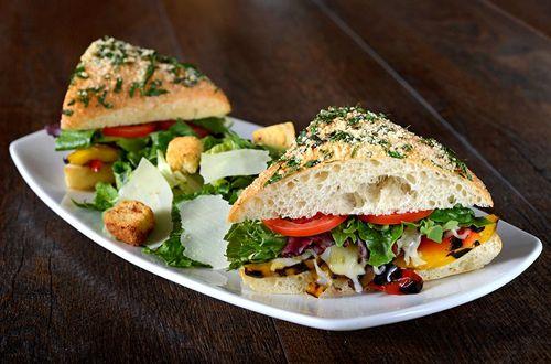 Grilled Veggie Sandwich California Pizza Kitchen