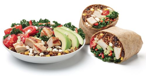 Ring in the New Year with California Tortilla's Super Food Burrito