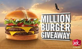 Jack in the Box to Give Away One Million Burgers