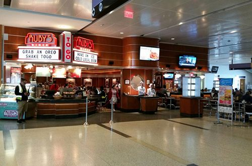 Ruby's Diner Named Best Airport Sit Down Dining Destination by USA Today and 10Best Readers' Choice Travel Awards
