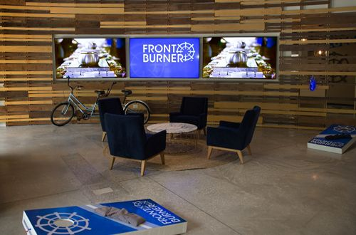 Front Burner Unveils Fun, Progressive New Headquarters Office, Companywide Initiatives And Expanded Services To Drive Business Growth