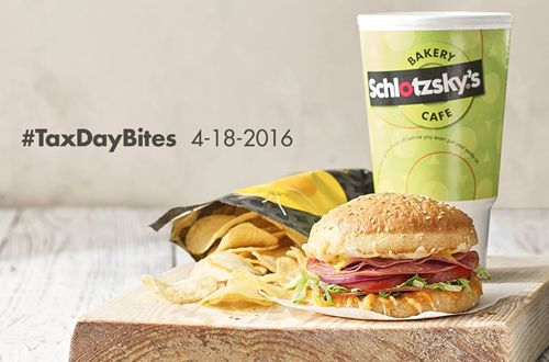 Schlotzsky's Offers Free Food for Guests on Tax Day