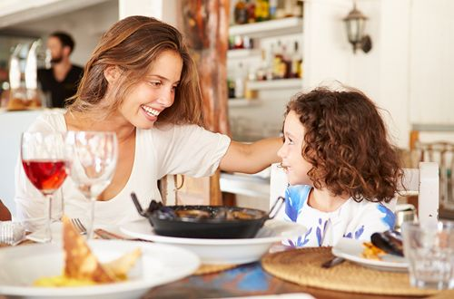 Survey Highlights Dining Out & Other Top Gift Ideas Guys Can Give Wives on Mother's Day
