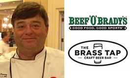 Beef 'O' Brady's and The Brass Tap to Launch Expanded Menu with Hiring of New Director of Research and Product Development