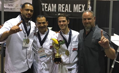Team Real Mex Restaurants Dominates the Culinary Clash Cooking Competition