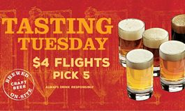 """Rock Bottom Launches """"Tasting Tuesday"""" and Hosts Craft Beer Appreciation Events to Celebrate Unique Beer Styles with Guests"""
