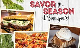 Bennigan's Invites Guests to 'Savor the Season'
