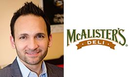 Paul Macaluso Promoted to Brand President of McAlister's Deli