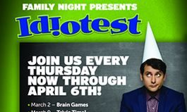Ovation Brands and Furr's Fresh Buffet Turn Family Night into Game Night with New 'IDIOTEST' Promotion, Starting March 2