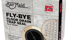 New FLY-BYE Floor Drain Trap Seal Makes Drains Virtually Maintenance Free