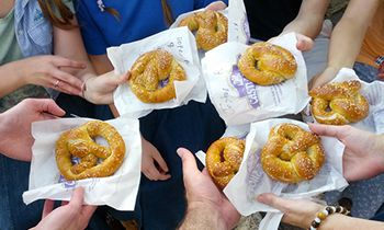 A Twist on an Old Favorite: National Pretzel Day Wednesday, April 26 at Bavarian Inn Restaurant