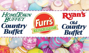 Ovation Brands and Furr's Fresh Buffet Serve an Easter Feast with Special Holiday Menu on April 16