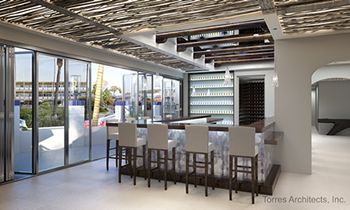 Newly Renovated Seaside Cantina Evokes the Feeling of a Beachside Resort