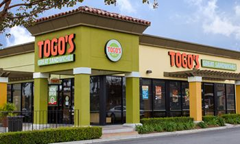 Togo's Announces Incentive to Waive Franchise Fees for Two Qualified Veterans