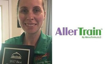 AllerTrain Recognizes Food Allergy Champion from Popular Restaurant Brand