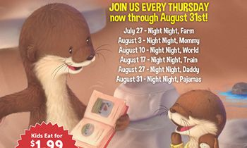 Ovation Brands and Furr's Fresh Buffet Launch New Family Night with Night Night Book Series, Starting July 27