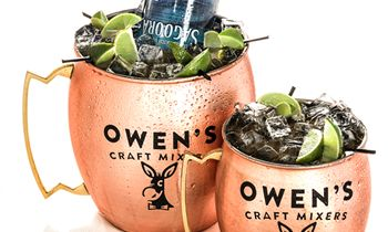 Arooga's Doubles Down Announcing New Partnerships with Boardroom Spirits and Owen's Craft Mixers