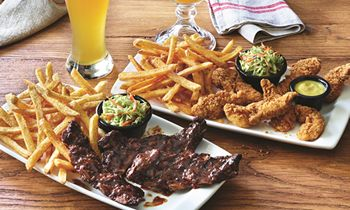Applebee's in Texas Brings Back Famous Riblets by Popular Demand; Guests Can Choose All-You-Can-Eat Riblets or All-You-Can-Eat Chicken Tenders with Endless Classic Fries, All Day, Every Day for Only $12.99