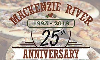 MacKenzie River Pizza Plans Month Long Celebration in April