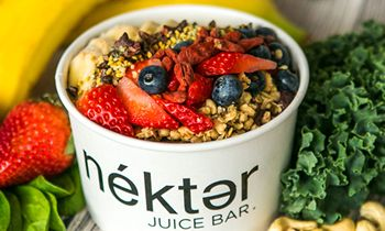 """Nékter Juice Bar Wins Coveted """"Best Buy in Franchising"""" Award by Authoritative Industry News Source, Franchise Times"""