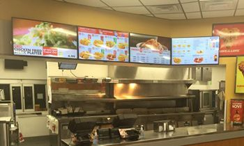Case Study: Digital Menu Board Technology and Church's Chicken of New Mexico