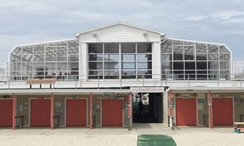 Sunny Atlantic Beach Club's Patio Has You Covered All Summer