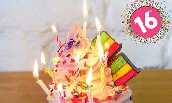 16 Handles Celebrates 10-Year Anniversary!