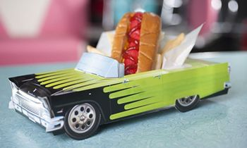 Hwy 55 Burgers, Shakes & Fries Featuring $.99 Hot Dogs on National Hot Dog Day