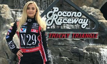 Natalie Decker Names Shoney's as Her Team's Primary Sponsor at Pocono