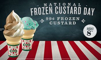 Rita's Italian Ice Celebrates National Frozen Custard Day 2018