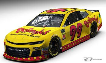 Title Sponsor Throws it Back with Derrike Cope at the Iconic Bojangles' Southern 500