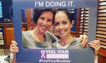 Arooga's and The Feel Your Boobies Foundation Team Up for Fifth Annual October Fundraiser