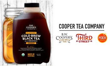 Cooper Tea Launches First Cold Brew Tea Concentrate Designed for Restaurants and Other Foodservice Operators