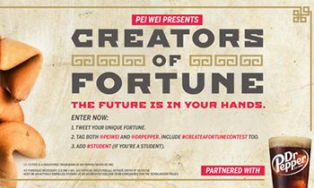 Pei Wei Invites Guests to Create their Own Fortune